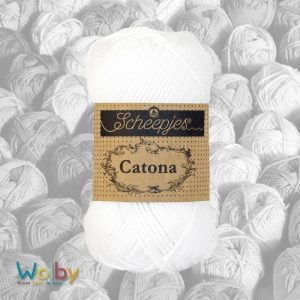 Catona 106 - Snow White - Wit