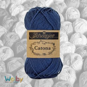 Catona 164 - Light Navy / Licht Marine Blauw