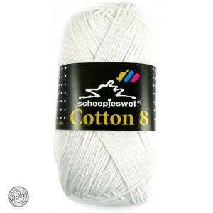 Cotton 8 - 502 - Wit