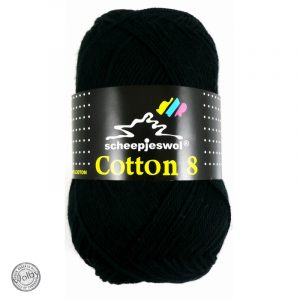 Cotton 8 - 515 - Zwart