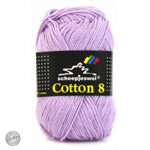 Cotton 8 - 529 - Licht Paars