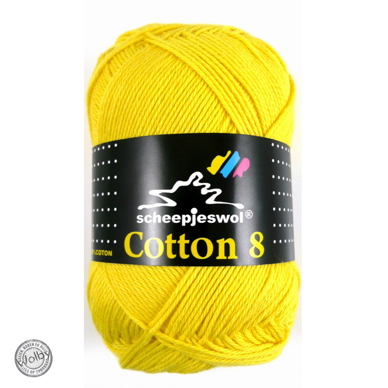 Cotton 8 - 551 - Fel Geel