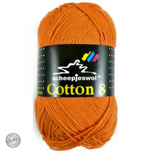 Cotton 8 - 639 - Oranje