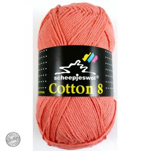 Cotton 8 - 650 - Zacht Oranje