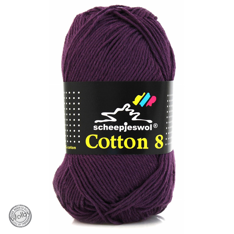 Cotton 8 - 661 - Paars