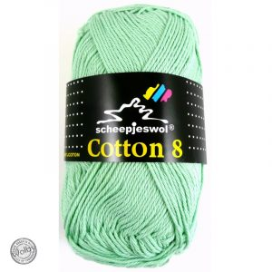 Cotton 8 - 664 - Mint Groen