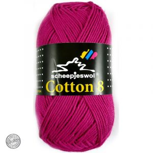 Cotton 8 - 720 - Fuchsia Roze