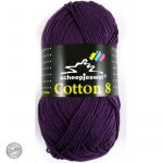 Cotton 8 – 721 – Donker Paars