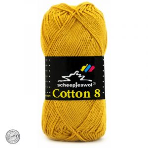 Cotton 8 - 722 - Mosterd Geel