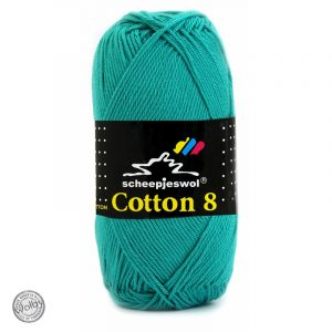 Cotton 8 - 723 - Zee Groen