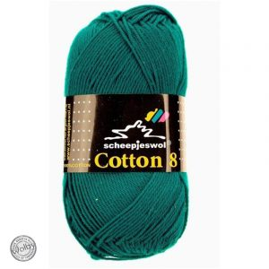Cotton 8 - 724 - Petrol Blauw