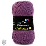 Cotton 8 - 726 - Oud Paars