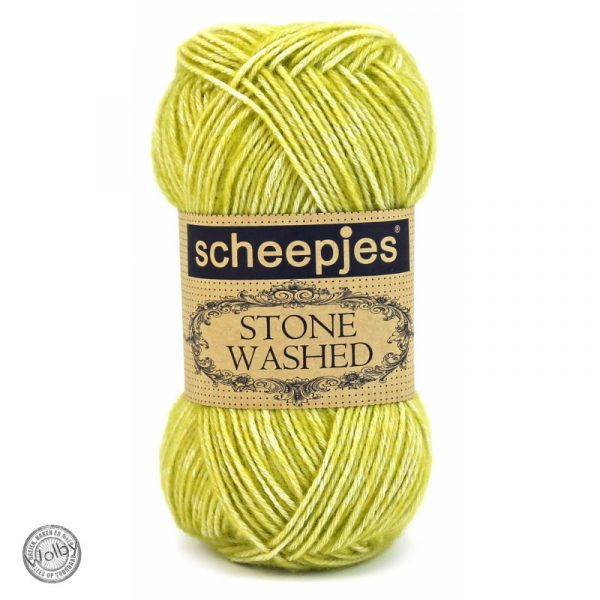 Scheepjes Stone Washed 812 - Lemon Quartz - Citroen Geel