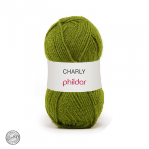 Phildar Charly 033 - Gazon / Gras Groen