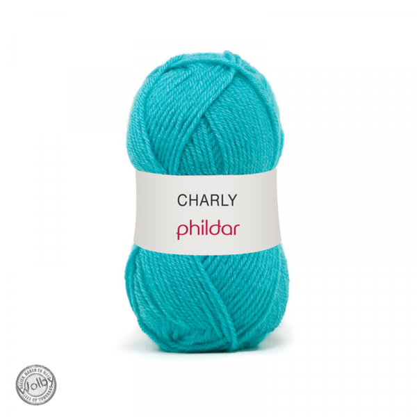 Phildar Charly 036 – Turquoise / Turqouise