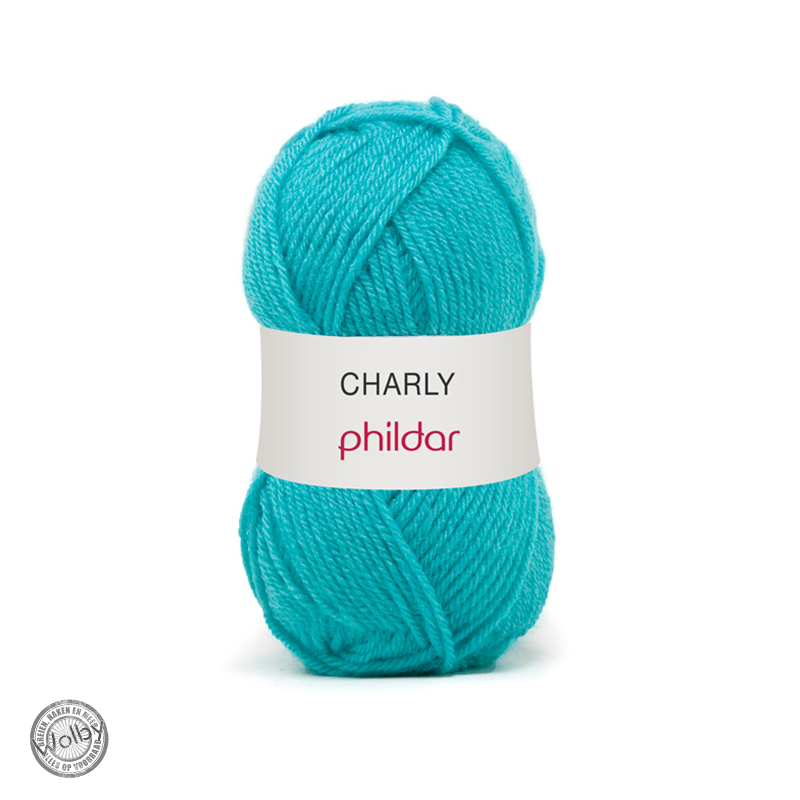 Phildar Charly 036 - Turquoise / Turqouise