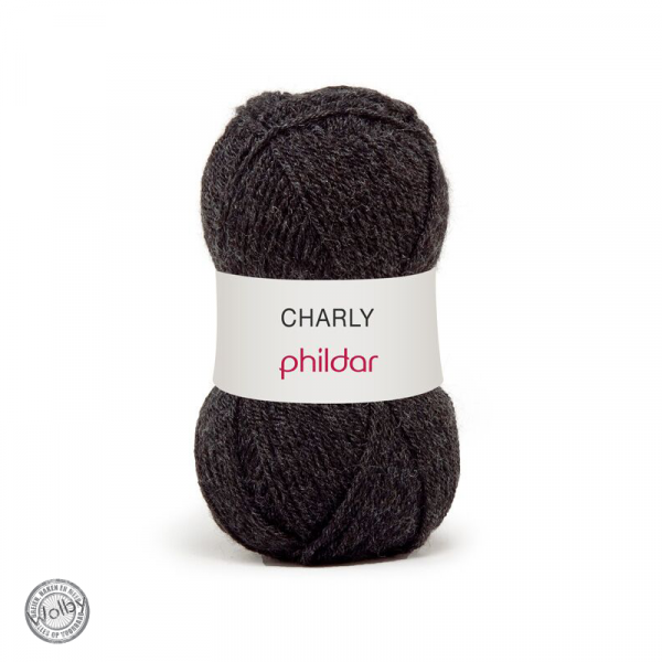 Phildar Charly – Carbone / Donker Grijs