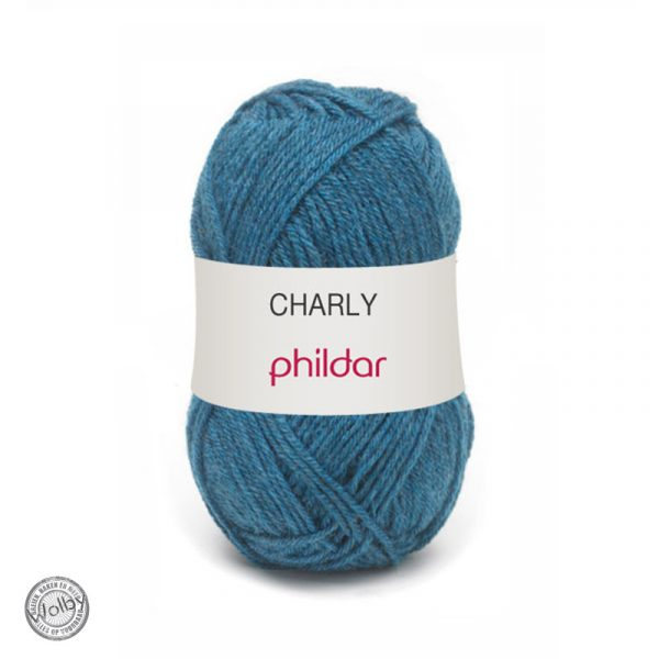 Phildar Charly – Jeans / Jeans Blauw