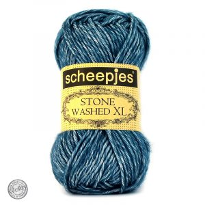 Stone Washed XL 845 - Blue Apatite – Blauw