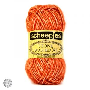 Stone Washed XL 856 - Coral – Koraal Rood