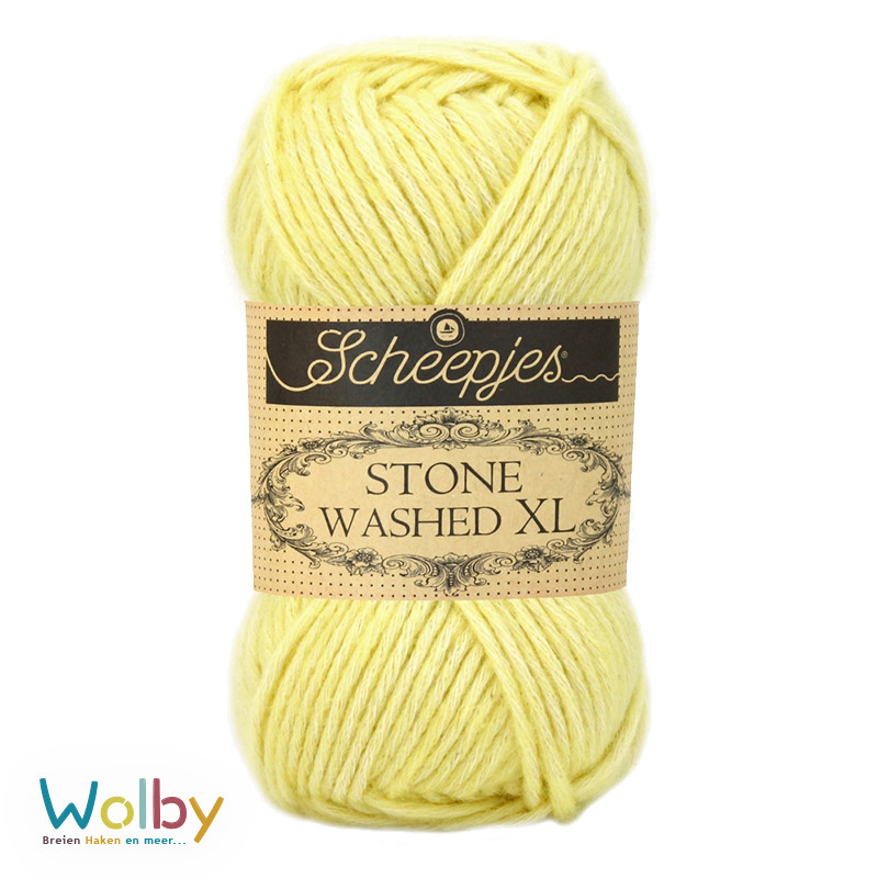 Stone Washed XL 857 - Citrine – Geel