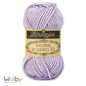 Stone Washed XL 858 - Lilac Quartz – Licht Paars