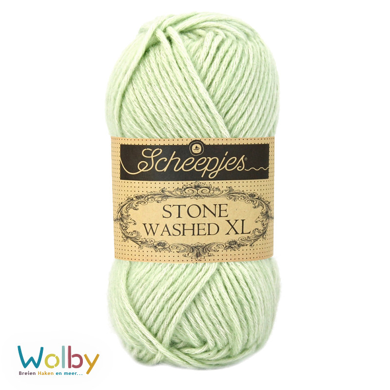 Stone Washed XL 859 - New Jade – Licht Groen