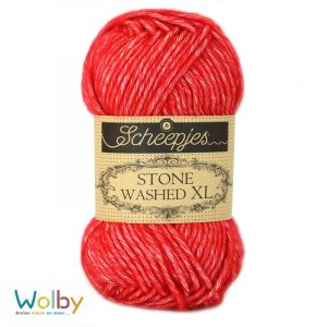 Stone Washed XL 863 - Carnelian – Rood
