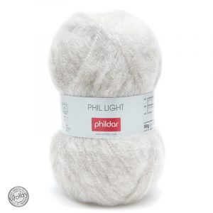 Phildar Phil Light - Gazelle / Licht Grijs