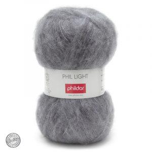 Phildar Phil Light - Souris / Donker Grijs