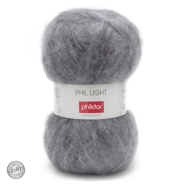 Phildar Phil Light – Souris / Donker Grijs