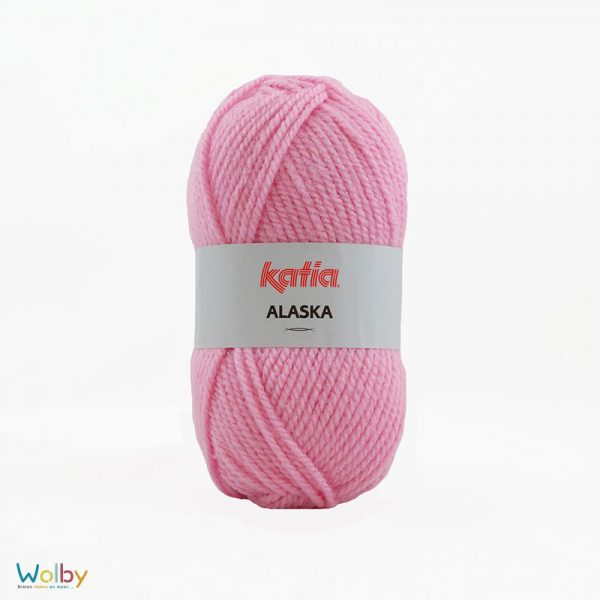 Katia Alaska 44 - Chicle / Roze