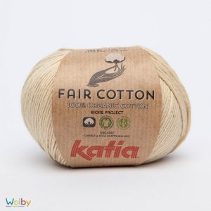 Katia Fair Cotton 10 - Beige Claro / Beige