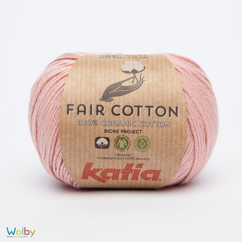 Katia Fair Cotton 13 - Salmón / Zalm Roze