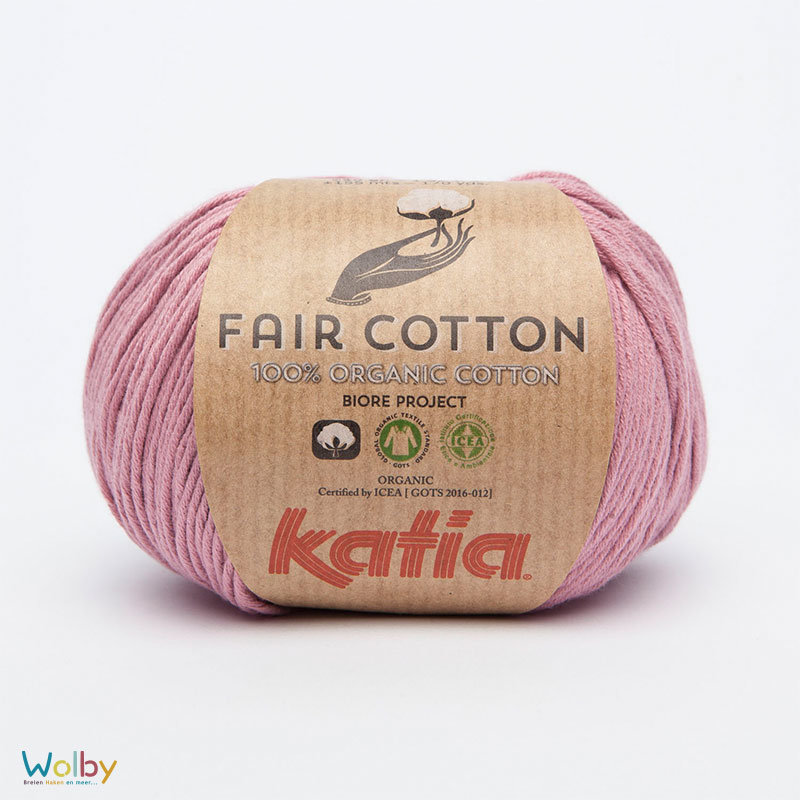 Katia Fair Cotton 15 - Maquillaje / Roze