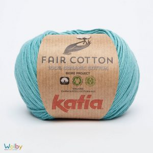 Katia Fair Cotton 16 - Turquesa / Turquoise