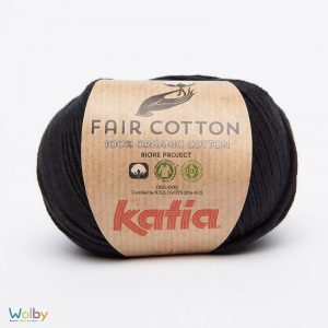 Katia Fair Cotton 02 - Negro / Zwart