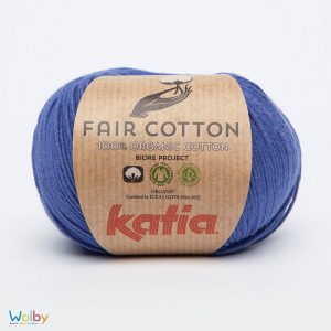 Katia Fair Cotton 24 - Azulina / Blauw
