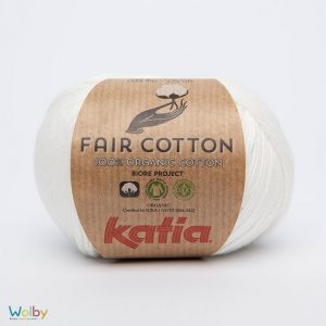 Katia Fair Cotton 03 - Crudo / Crème