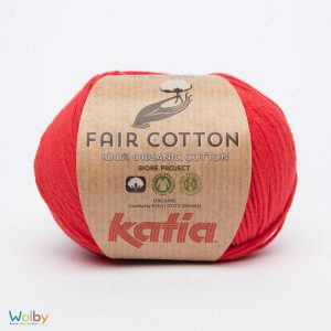 Katia Fair Cotton 04 - Rojo / Rood