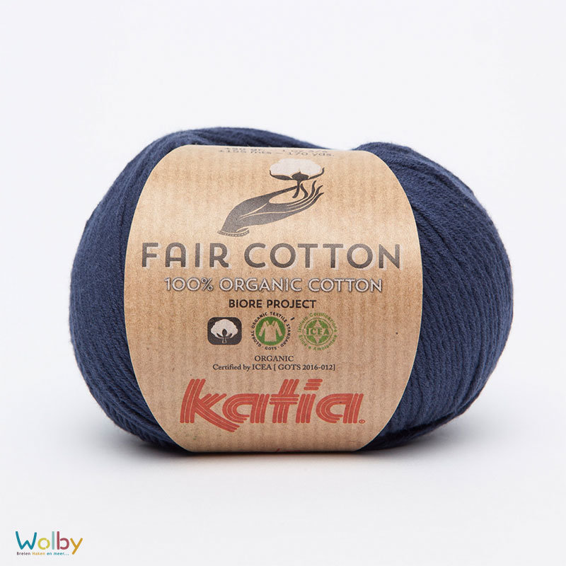 Katia Fair Cotton 05 - Marino / Donker Blauw