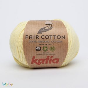 Katia Fair Cotton 07 - Amarillo Bebé / Zacht Geel