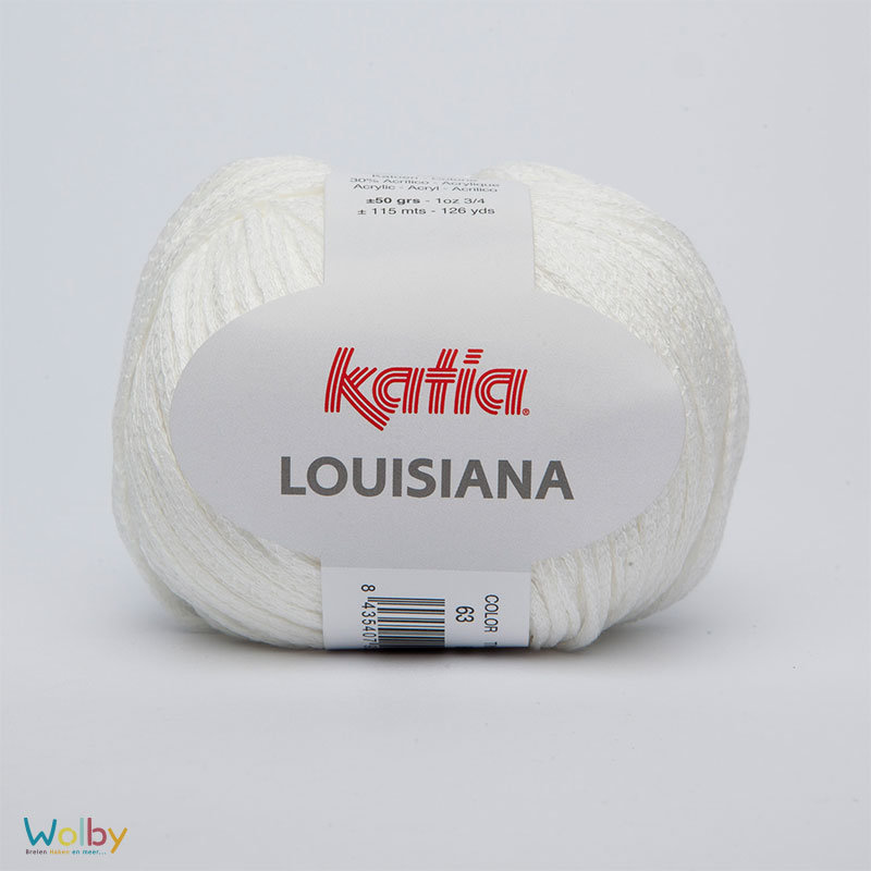 Katia Louisiana 63 - Blanco / Wit