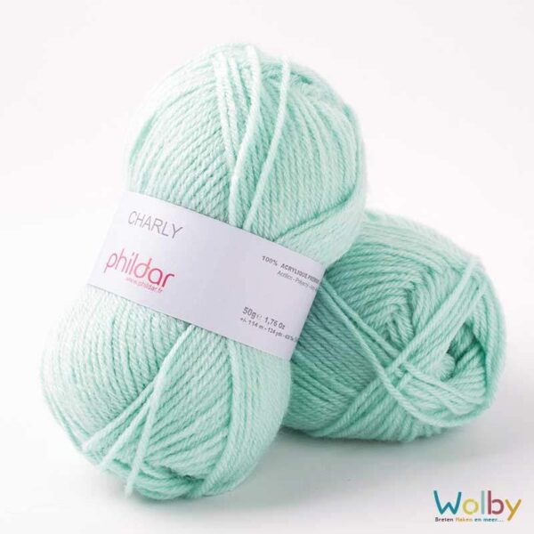 Phildar Charly 047 - Jade / Mint Groen