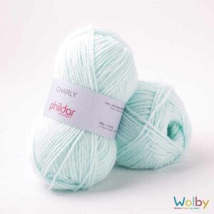 Phildar Charly - Glacon / Zacht Mint Groen