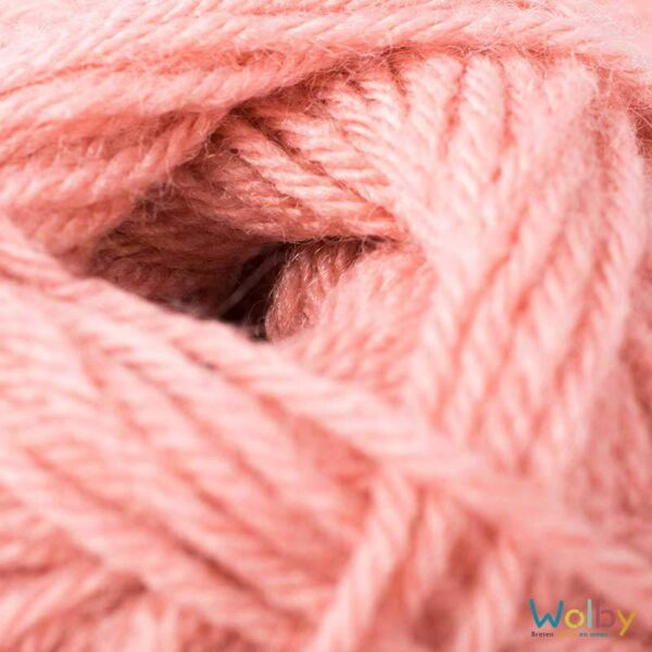 Phildar Charly 054 - Roses des Sables / Oud Roze, detailfoto
