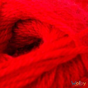 Phildar Charly 084 - Rouge / Rood Detailfoto