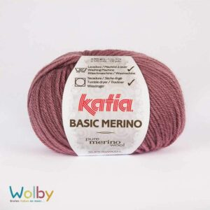 Katia Merino Basic 63 - Medium Paars